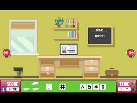 Home office room escape Walkthrough (N media) - YouTube