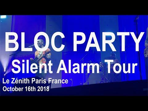 Bloc Party Live Full Concert 4K @ Le Zénith Paris 16th October 2018 Silent Alarm Tour 2018 Mp3