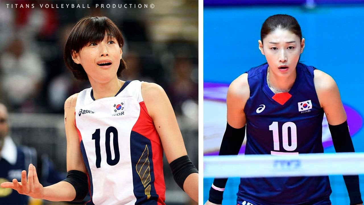 Evolution Kim Yeon-Koung (김연경)  in 5 years the National Volleyball Team