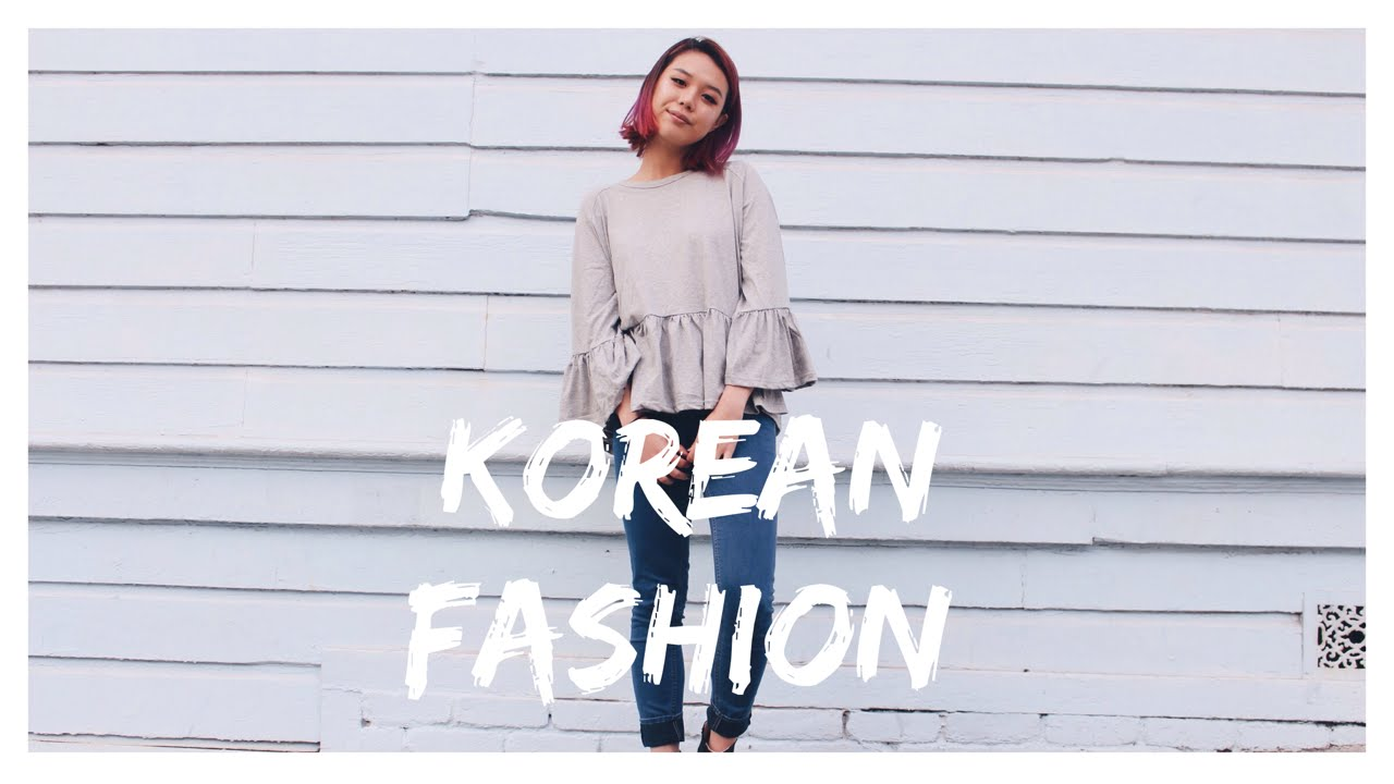 KOREAN FASHION | INSPIRED OUTFITS - YouTube