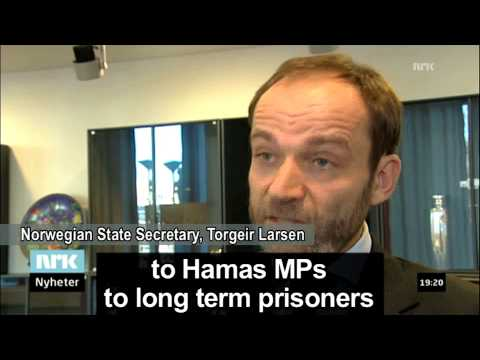 """Norwegian MP says government """"indirectly"""" funds terrorism"""