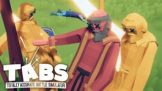 ВОЕННАЯ ДИСКОТЕКА ► Totally Accurate Battle Simulator #16