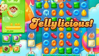 Candy Crush Jelly Saga Level 1510 (3 stars, No boosters)