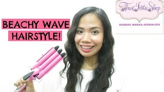 HOW I CURL MY HAIR?! (3-Barrel Curling Iron)