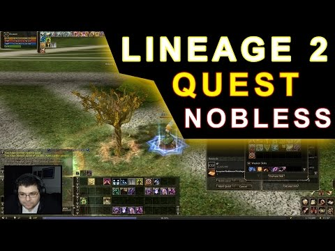 Lineage 2 - Noblesse Soul Testing Quest - Server Ramona Helios Update PT-BR