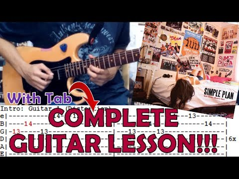 Addicted Simple Plancomplete Guitar Lessoncoverwith Chords And
