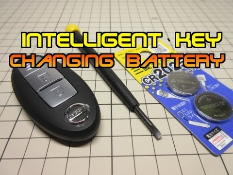 Video clip hay Nissan Intelligent Key battery Replacement ...