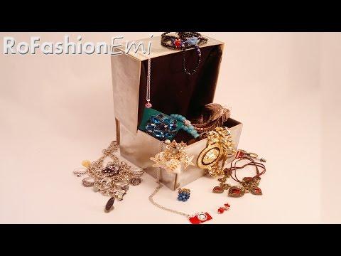 Tutorial Ro Fashion - Cum sa faci o cutie pentru bijuterii DIY