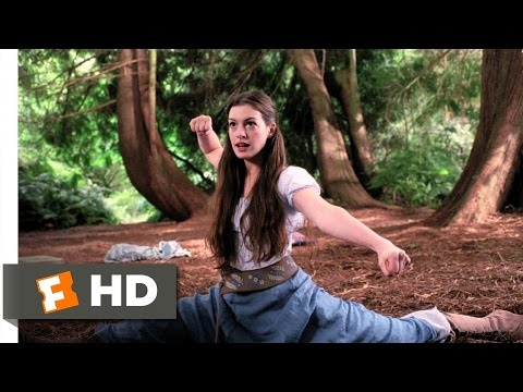 Ella Enchanted (6/12) Movie CLIP - Kick Some Butt (2004) HD