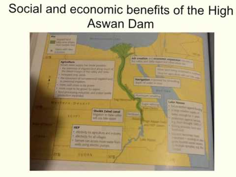 Year 10: Water world High Aswan Dam