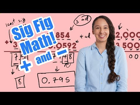 Adding and Subtracting Significant Figures!