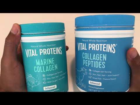 Collagen Peptides Vs Marine Peptides