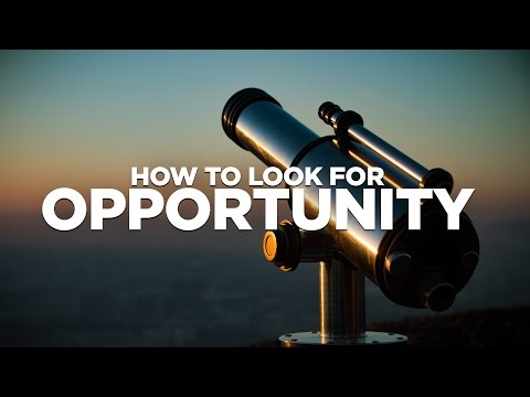 How to Find Opportunity - Cardone Zone