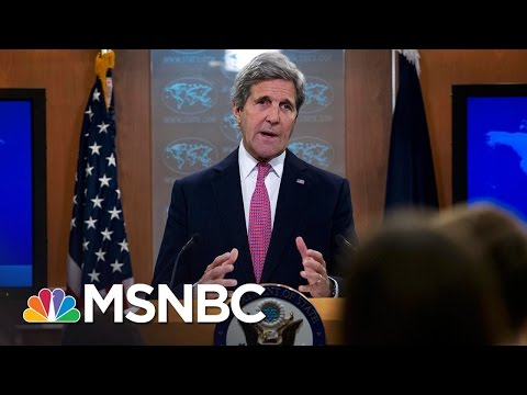 John Kerry's Israel Speech Draws Swift  Response | Morning Joe | MSNBC