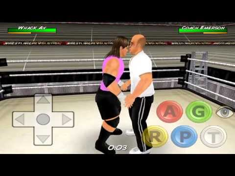 Android Game Wrestling Revolution 3D HD