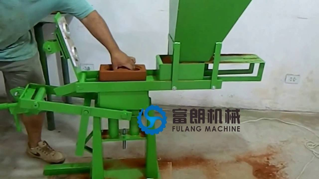 fl1 40 manual interlocking brick making machine design pdf with rh youtube com manual interlocking brick machine for sale manual interlocking brick machine for sale