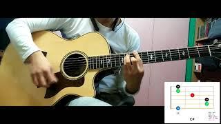뿜뿜 (Bboom Bboom) / 모모랜드 (MOMOLand) / 기타 Guitar / 코드 Chord