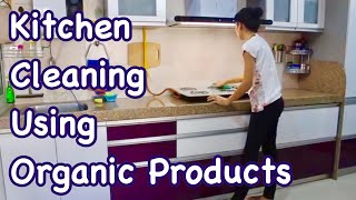 Indian Kitchen Cleaning Routine Using Organic Products / Cleaning Motivation / Clean With Me