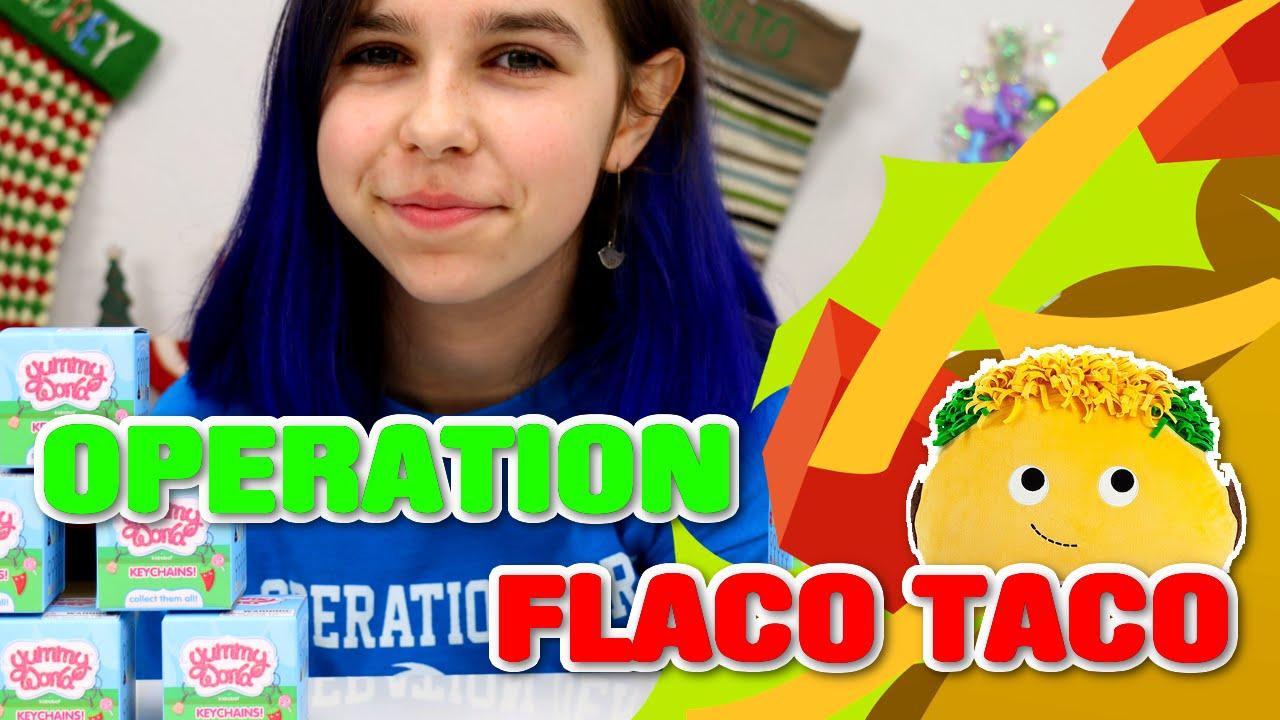 Kidrobot Yummy World Operation Flaco Taco Radiojh