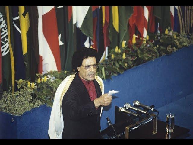 Muammar Gaddafi speaks on the importance of unity to Arabs