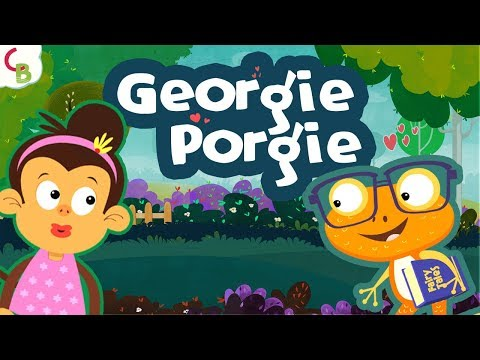 Georgie Porgie Pudding And Pie - Nursery Rhymes For Children | Kids And Baby Songs By Cuddle Berries