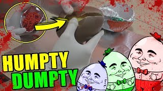 No DEBES escuchar la CANCIN de HUMPTY DUMPTY  Abriendo huevo sorpresa grande
