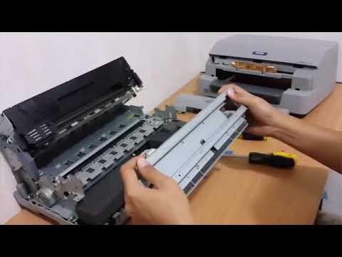 Cara pasang Sensor Kertas  Printer Passbook EPSON PLQ 20
