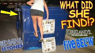 KIRKLANDS LEFT US A HUGE JACKPOT IN THEIR DUMPSTER! NIGHT #252