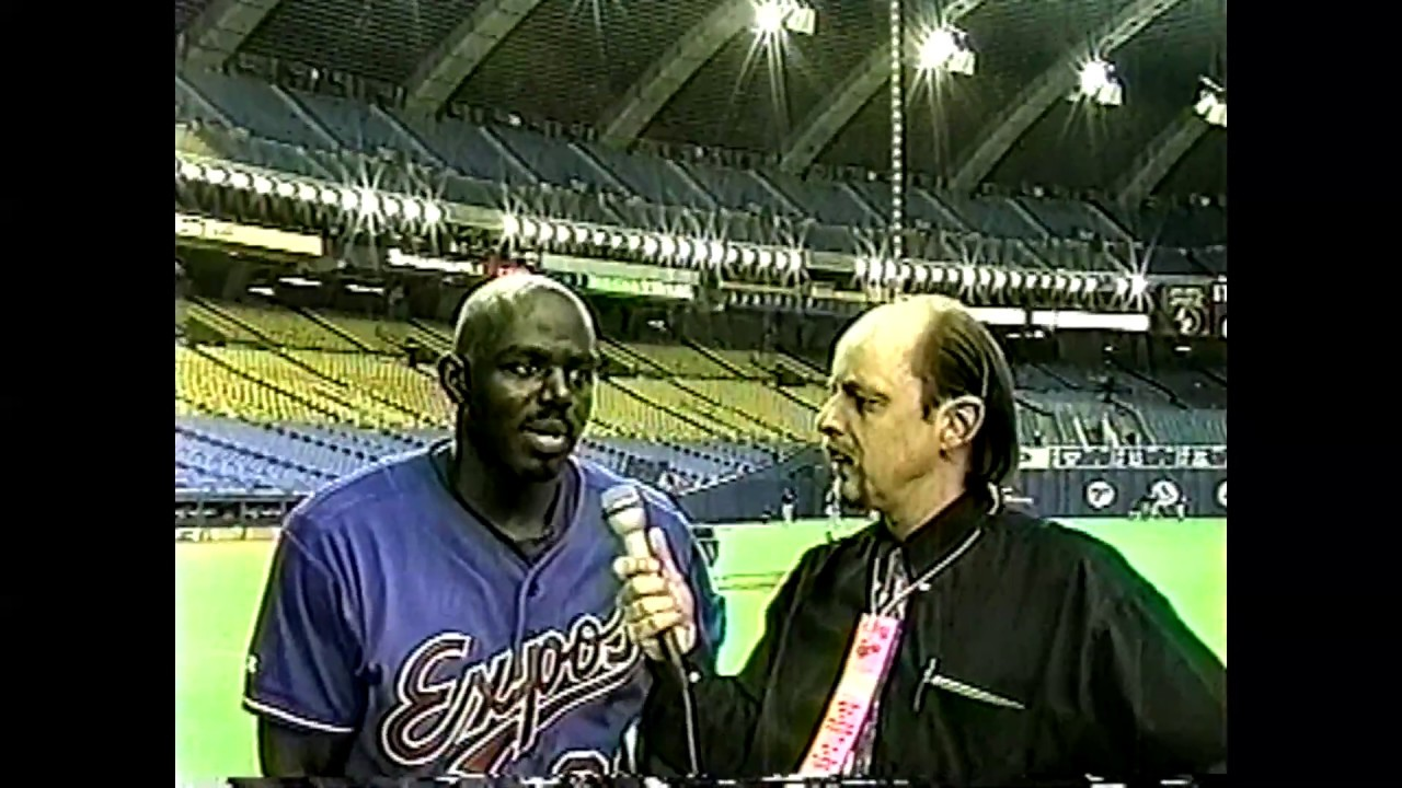 Expos - Brewers Raw Footage  4-14-99
