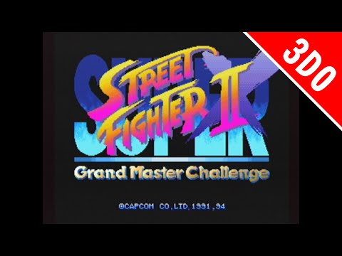 スーパーストリートファイターIIX(3DO版) オープニング [GV-VCBOX,GV-SDREC]