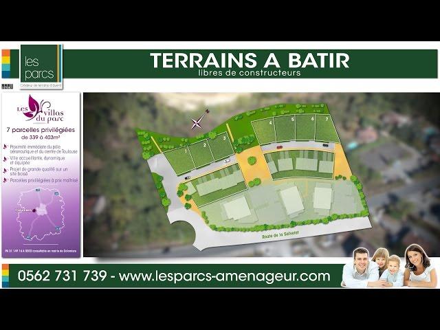 Les Villas du Parc - Les Parcs <br/>1 vol et 1 montage : 800€ ht <br/>