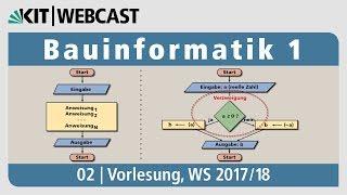 02: Bauinformatik 1, Vorlesung, WS 2017/18