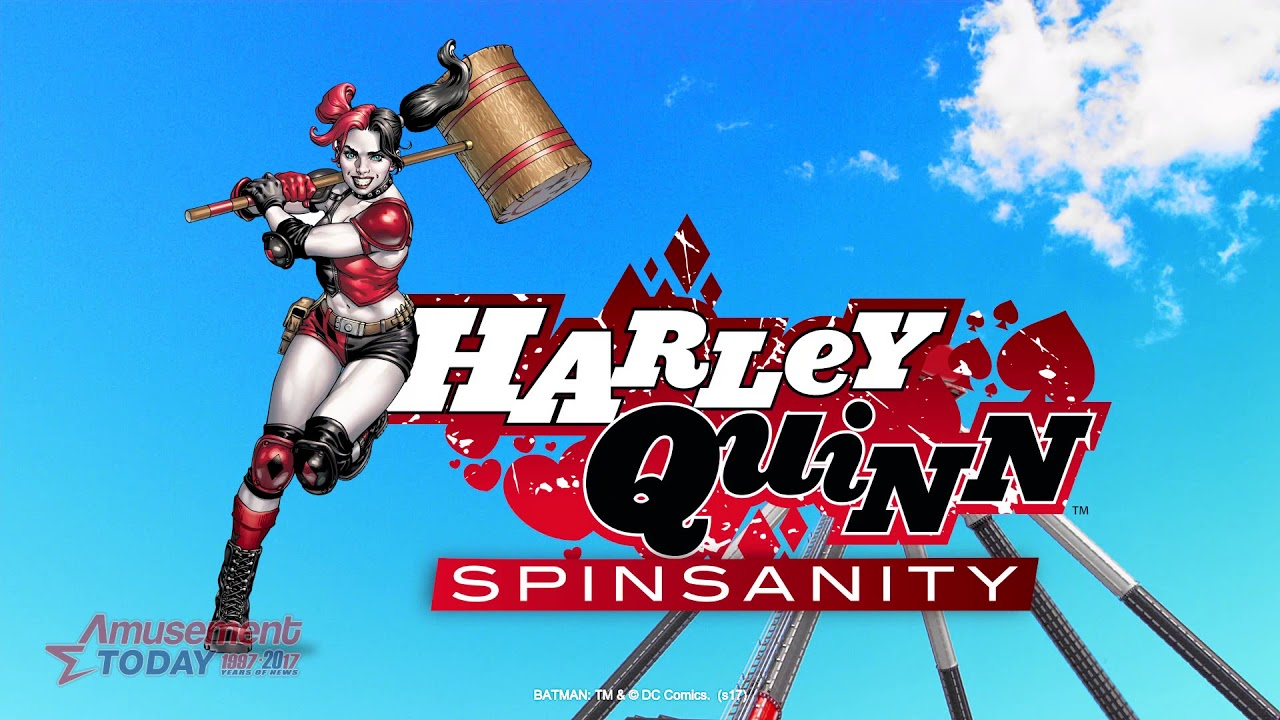 059be08089a1d7 Harley Quinn Spinsanity to Debut at Six Flags New England « Amusement Today
