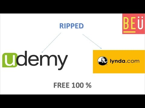 Download paid udemy, lynda and pluralsights courses for free.