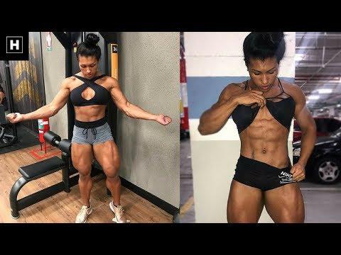 Alessandra Alvez Lima' Workout Routine For a Shredded Summer Body   Workout Motivation
