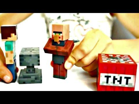 Майнкрафт видео: Стив, Крипер и Порох. Обзор