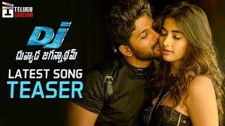 Dj duvvada jagannadham latest song teaser | motion teaser | allu arjun | pooja hegde | telugu cinema