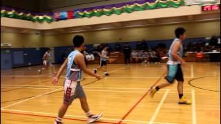 [男子乙組籃球] 學界十六強比賽馬錦明對馮梁結 | 27/1/2016
