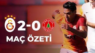 ÖZET | Galatasaray 2-0 Ümraniyespor Hazırlık Maçı