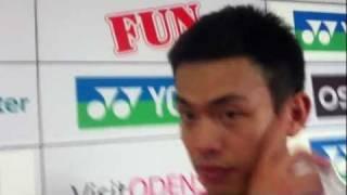 Lin Dan: Det er helt normalt