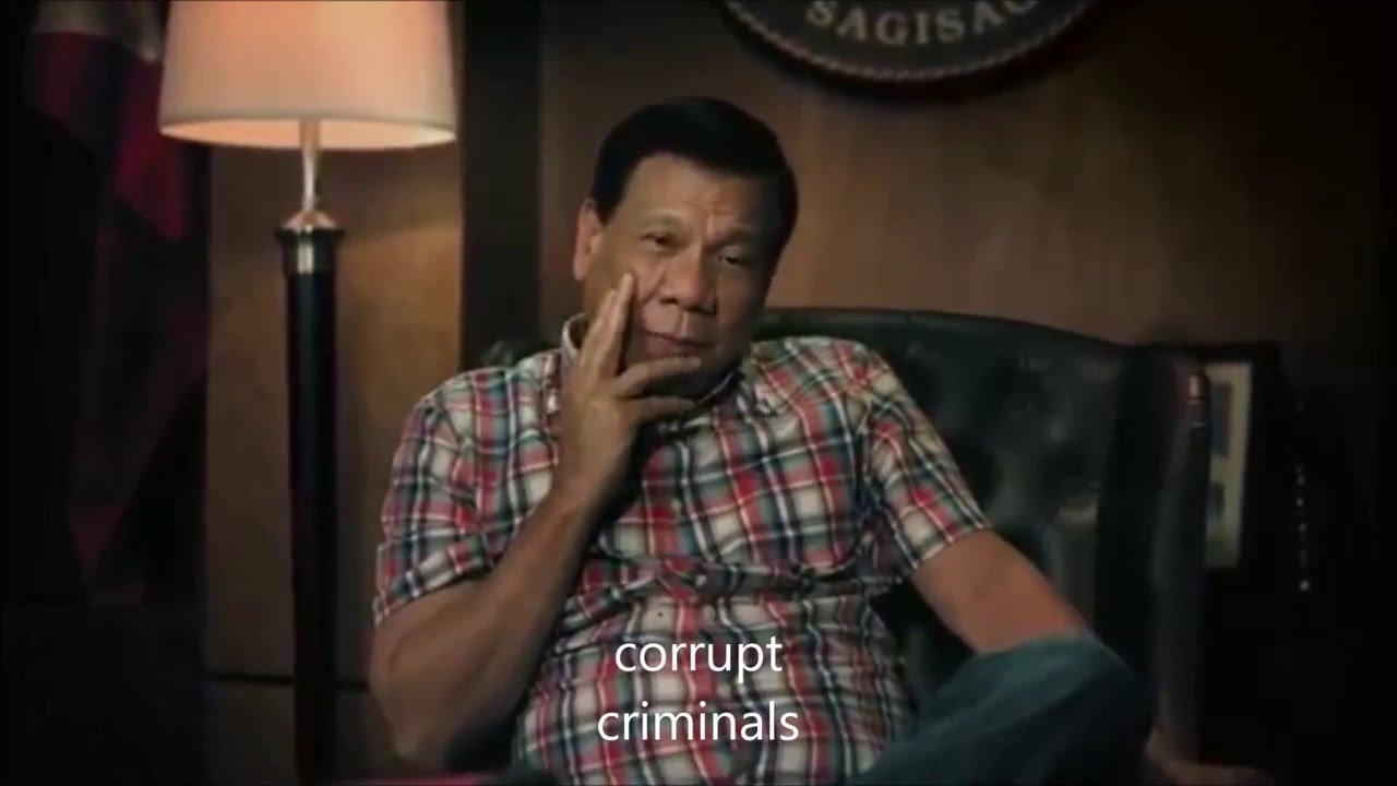 Dutertes Christmas Greeting For 2015 With English Subtitles Youtube