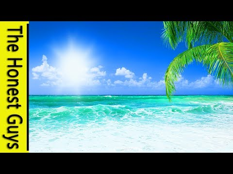 """10 MINUTE Guided Meditation """"The Paradise Beach"""""""