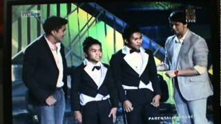 pilipinas got talent season2 ( Mata Brother)happy feet, semi finalist 50.51 % of/votes
