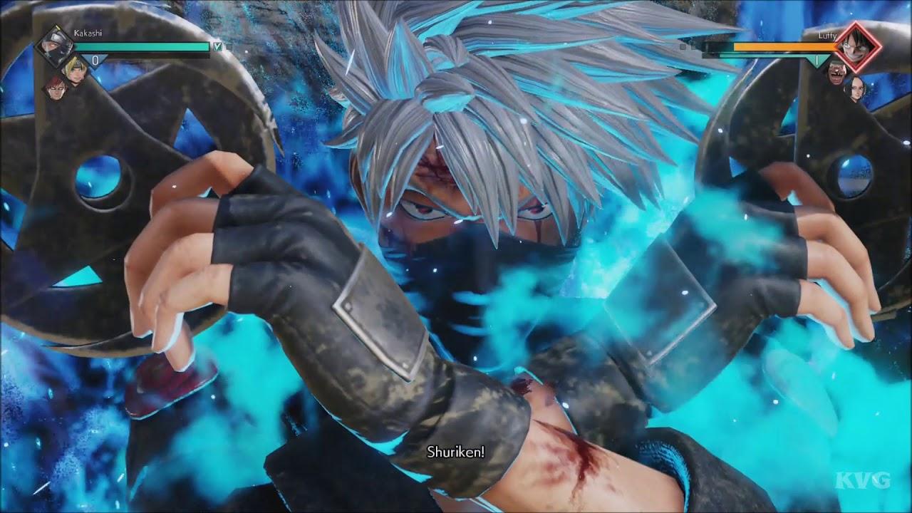 Jump Force – Kakashi Gameplay (PS4 HD) [1080p60FPS]