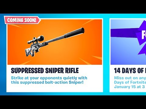 *NEW* Silenced Sniper Coming Soon!! *Pro Fortnite Player* // 1800 Wins // Fortnite Live Gameplay