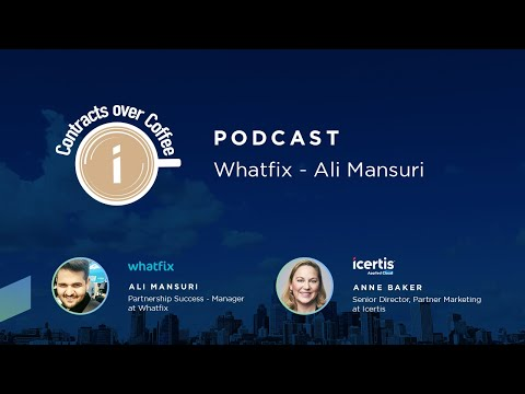 Contracts over Coffee with Whatfix's Ali Mansuri