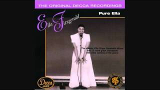 ELLA FITZGERALD - SOMEONE TO WATCH OVER ME 1950