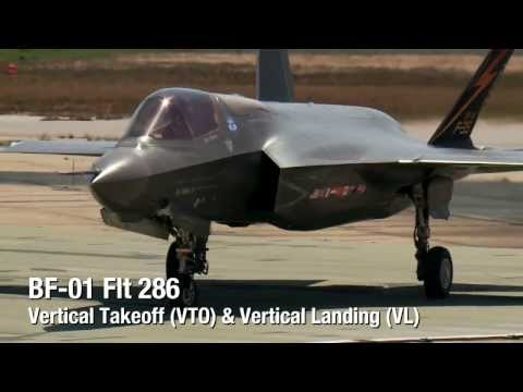 F-35 Vertical Takeoff