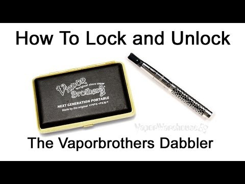 How to Unlock a Vape Pen