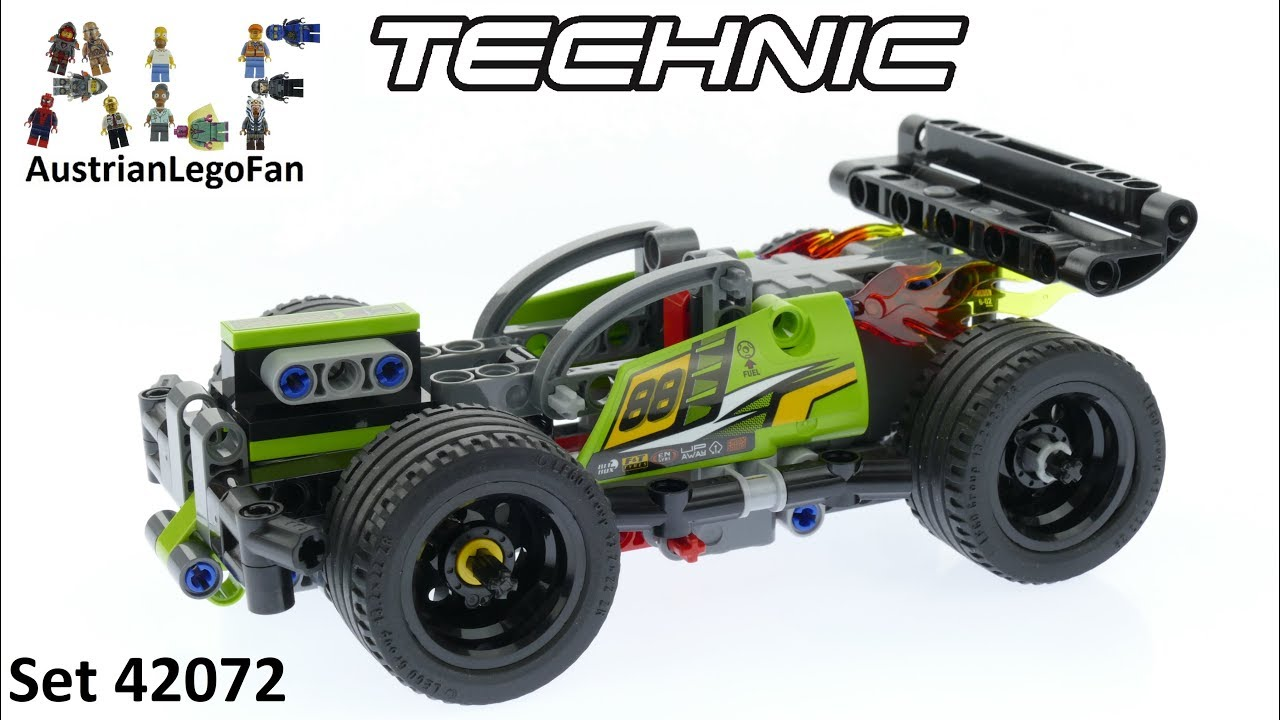Lego Technic 42072 Whack Lego Speed Build Review Youtube